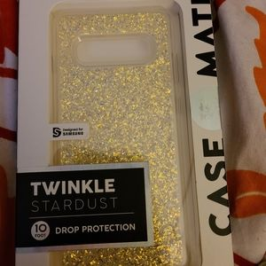 Case-mate Twinkle Stardust. Samsung galaxy s10+. B